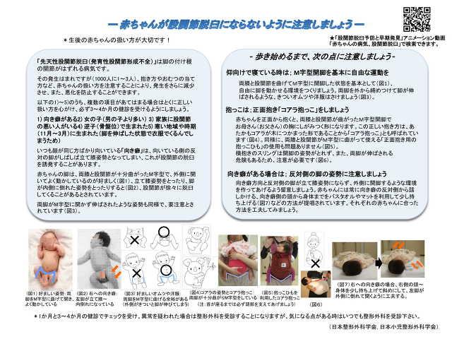 日本小児整形外科学会の資料です